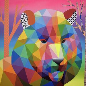 Okuda San Miguel, 'Last Tiger Rainbow', 2019