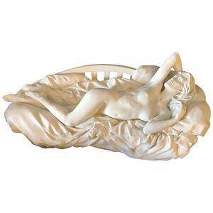 Bill Mack, 'Bill Mack Tranquility Sculpture Bronze with White Patina', 1990