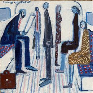 David Fawcett, 'Avoiding eye contact', Contemporary