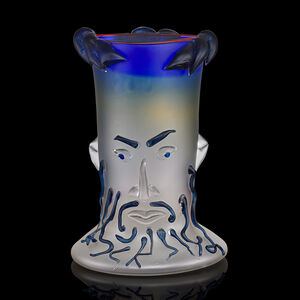 "Dan Dailey, 'Face vase from the Mythology Heads series, ""Zeus""', 1989"