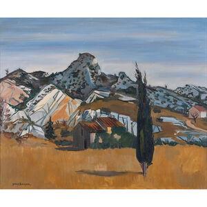 Yves Brayer, 'Les Alpilles', 1956