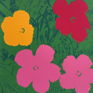 Andy Warhol, 'Flowers 11.68', 1967 printed later