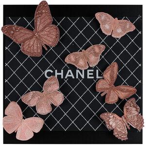 Stephen Wilson, 'Chanel Blush Butterflies', 2019