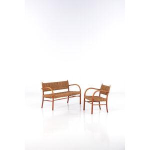 Karl Scröder, '1461 model, sofa and armchair', 1940