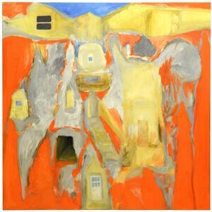 John Benicewicz, 'Gold and Grey - Orange Throughout - Blue Everlasting', 2015