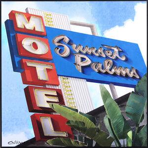 Michael Giliberti, 'Sunset Palms LA', 2020