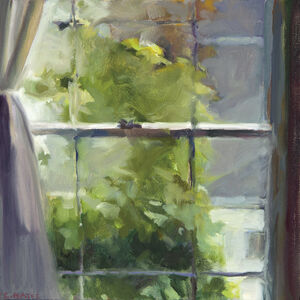Connie Hayes, 'Green Climber'