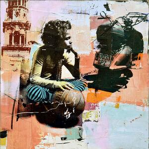 Dan Parry Jones, 'Girl and Scooter', 2019