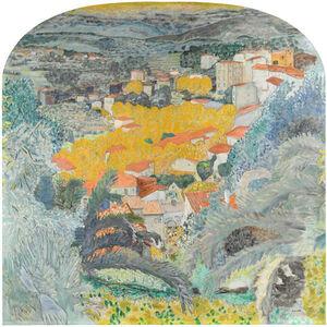 Pierre Bonnard, 'View of Le Cannet', 1927