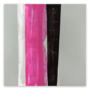 Marcy Rosenblat, 'Pale White Light (Abstract painting)', 2017
