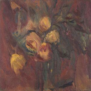 David Bomberg, 'Purple Flowers', 1937
