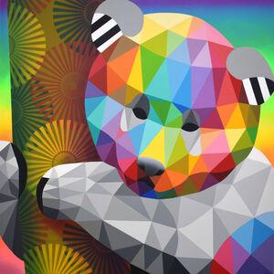 Okuda San Miguel, 'Panda independence', 2019