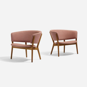 Nanna Ditzel, 'Lounge Chairs, Pair', 1952