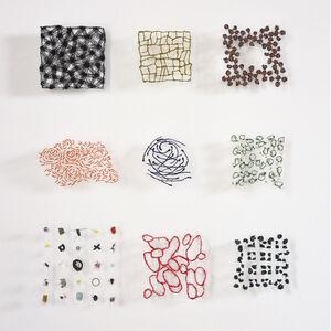 Marian Bijlenga, 'Nine Minatures', 1983