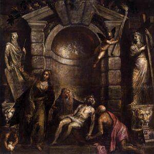 Titian, 'Pietà', ca. 1570-76