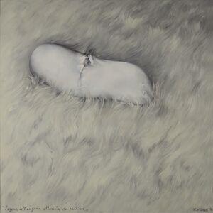 Mattia Moreni, 'L'agonia dell'anguria allunata su pelliccia', 1970
