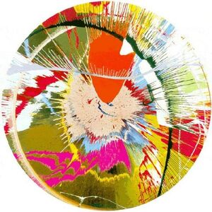 Damien Hirst, 'Beautiful, Galactic, Exploding (Spin)', 2001