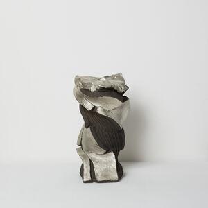 Shozo Michikawa, 'Tanka with Silver Sculptural Form', 2018