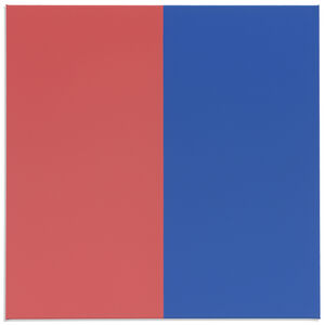 Steven Aalders, 'Two Colors (Red, Blue)', 2018