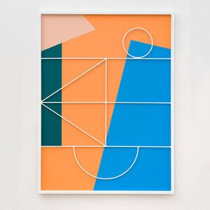 Przemek Pyszczek, 'Facade Painting II, CA', 2019