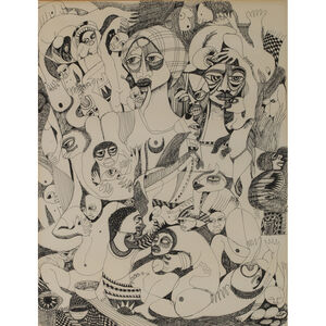 Malangatana Ngwenya, 'Untitled', 1981