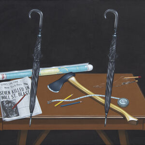 Naoto Nakagawa, 'New York Post', 1972