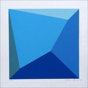 Antonio Peticov, 'Blue +', 2016