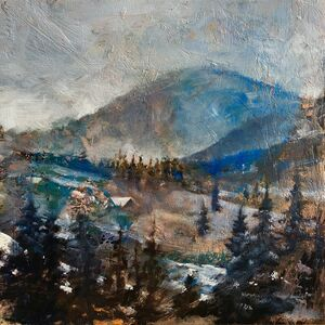 Nathan Florence, 'Pinecone Ridge from Solitude', 2019