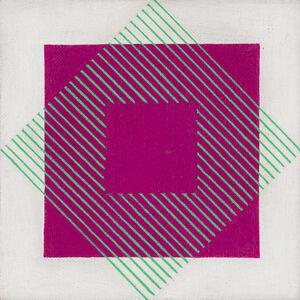 Mario Ballocco, 'Effetti di assimilazione cromatica', 1970-76