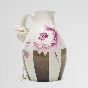Nymphenburg Porcelain Manufactory, 'Autumn wine jug', 2007