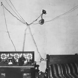 Roger Ballen, 'Bedroom of Railway Worker, De Aar', 1984