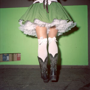 Naomi Harris, ''German' Cowgirl, Wurst Fest, New Braufnels, Texas', 2013