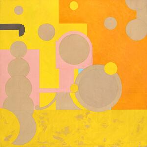 Hassel Smith, 'Arezzo Revisited', 1982