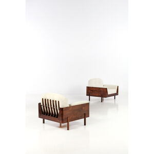 Lineart Moveis e Decoracoes, 'Pair of armchairs', 1960