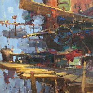 Bryan Mark Taylor, 'Shipyard', 2018