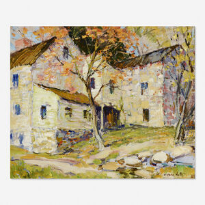 Alfred Hutty, 'Untitled (stone house)'