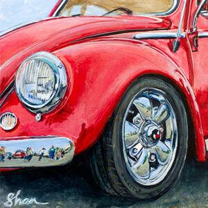 Shannon Fannin, 'Crimson Volkswagen', ca. 2020