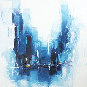 Daniel Castan, 'Blue Manhattan NYC', 2017-2018