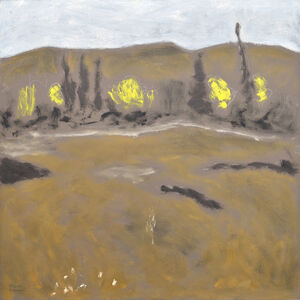 Charles Meanwell, 'Yellow Trees', 2017