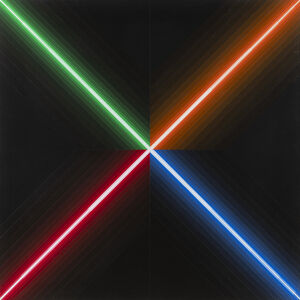Horacio Garcia-Rossi, 'Couleur lumière blanche', 1984