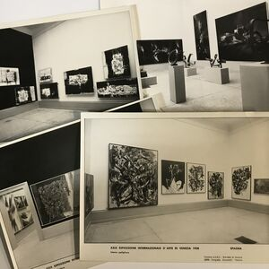 Mario Giacomelli, 'Phographic set of the representation of Spain at the XXIX Venice Biennale, 1958', 1958