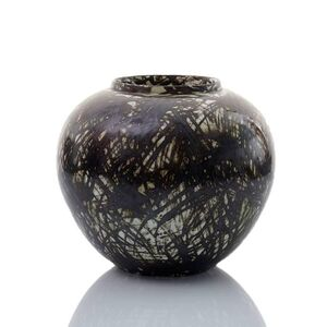 Felicity Aylieff, 'Black Scribble Vase', 2016