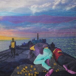 Joana Choumali, 'SILENT MORNING, Series Alba'hian', 2020
