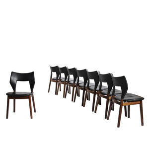 Edvard and Tove Kindt-Larsen, 'Set of 8 dining chairs', 1960