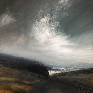 Ruth Brownlee, 'Clearing Storm: Burland Banks', 2019