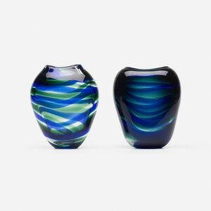 Floris Meydam, 'Serica vases, pair', c. 1955