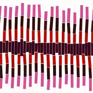 Diane Fine, 'Red Number 10', 2015