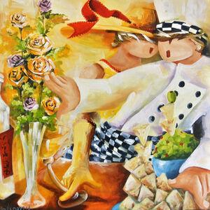 Marc Galipeau, 'Avec des Fheurs'