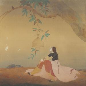 Abdur Rahman Chughtai, 'Nightingale'