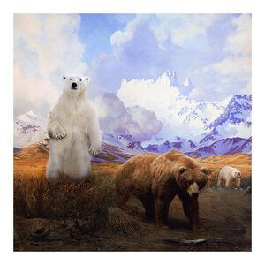 Anne Zahalka, 'Mama Bear, Papa Bear and Baby Bear', 2017